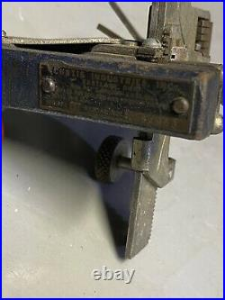 Vintage Curtis Industries Model 15 Cam-Set Code Key Cutter Tool