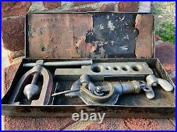 Vintage Imperial Eastman IMP Tube Cutter Tool Set CHICAGO USA ORIGINAL BOX