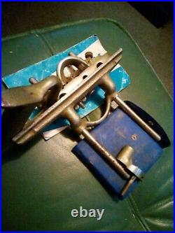 Vintage Record Number 050 Combination Plane with FULL SET of 15 Cutters & Manual