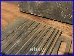 Vintage Set of (9) Stanley 141 Millers Pat Plane Wood Plane Cutters Blades