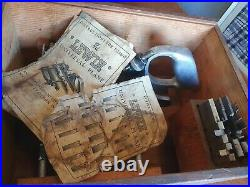 Vintage Stanley 45 Combination Plane with 2x Cutter sets & Lewin Universal Plane
