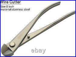 Vouiu 6-Piece Bonsai Tool Set, Knob Cutter, Trunk Splitter, Concave Cutter