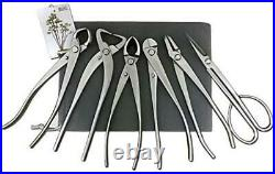 Vouiu 6-Piece Bonsai Tool Set, Knob Cutter, Trunk Splitter, Concave Cutter, Wire
