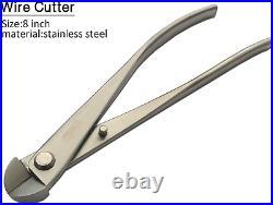 Vouiu 6-Piece Bonsai Tool Set, Knob Cutter, Trunk Splitter, Concave Cutter, Wire Cut