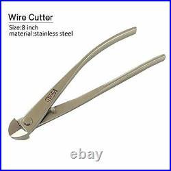 Vouiu 6-Piece Bonsai Tool Set Knob Cutter Trunk Splitter Concave Cutter Wire Cut