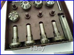 Vtg Antique Black & Decker Valve Seat Reamer Cutter Cutting Kit Set MADE IN USA