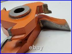 Vtg Freeborn Tool Pattern Shaper Cutter Bit Set Lot 3/4 to 1/2 w box Woodworking