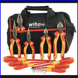 WIHA TOOLS 32977 Insulated Industrial Cutters/Drivers Set