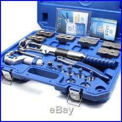 WK-400 Hydraulic Flaring Tool Set Kit 18pcs Pipe Fuel Line Kit Expander & Cutter