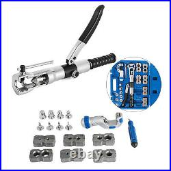 WK-400 Hydraulic Flaring Tool Set Tube Expander Pipe Fuel Line tool + Cutter