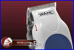 Wahl Electric Professional Hair Cut Clipper Cutter Tool Salon Barber Set Kit New