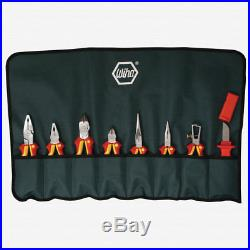 Wiha 32889 8 Piece Insulated Pliers/Cutters/Knife Pouch Set