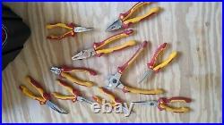 Wiha Insulated Tool Set kit Screwdrivers, Nut Drivers, Pliers, Cutters