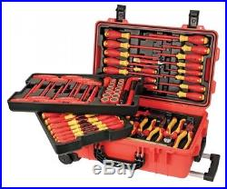 Wiha Insulated Tool Set with Screwdrivers, Cutters, Pliers, and Sockets/32800