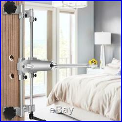 Woodworking Door Lock Installation Kit Circle Hole Saw Cutter Drilling Tool Set